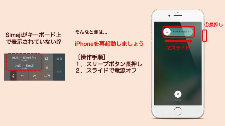 iPhone再起動説明